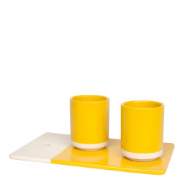 Coffret Pause gourmande jaune